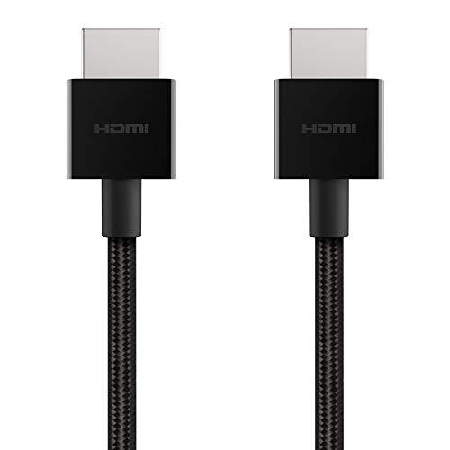 Belkin Cavo HDMI ad Alta Velocità Ultra HD (2018), 4K da 2 metri, Supporto 4K/120 Hz e 8K/60 Hz e Dolby Vision/HDR 10, 48 Gbps