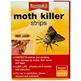 Moth Killer Strips/ Twin Pack by RENTOKIL