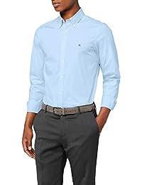Tommy Hilfiger Core Stretch Slim Poplin Shirt, Chemise Homme