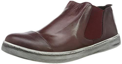 Andrea Conti Damen 1938704 Chelsea Boots, Rot (Burgund 5825), 38 EU
