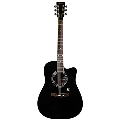 Lindo Apprentice Series Acoustic Guitar with Cutaway/Free Carry Case -