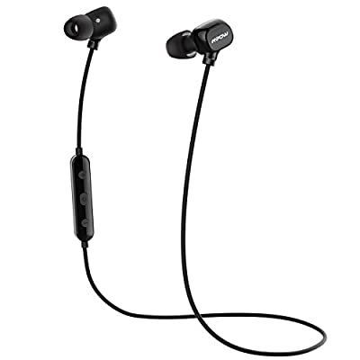 Mpow Running Headphones [Ultra Light] Wireless Running Earphones Sports Bluetooth Headphones, Upgraded Wearing Comfort Sweatproof Earbuds for iPhone Samsung Huawei LG, etc. (Bluetooth 4.1, Carrying Case Included)