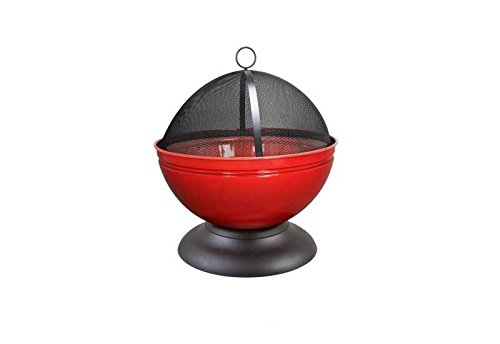 Buschbeck Feuerschale Globe Rot Maße (L x B x H): 56 x 56 x 60 cm Gewicht: 8,25 Kg Farbe: Rot