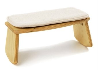Sgabello In Legno Pieghevole : Meditazione u2013 sgabello pieghevole in legno 38 cm x 17 cm x 17 cm
