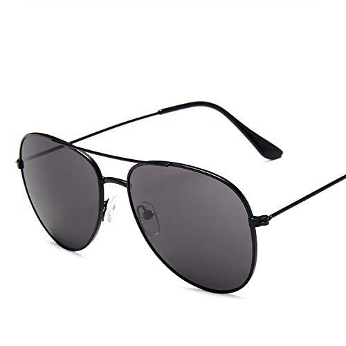 FIRM-CASE Metal Sonnenbrille Männer Frauen Maxi-Rahmen Sonnenbrillen Qualität Photochromie Objektiv Brillen, 5