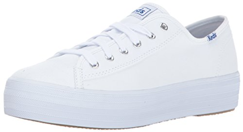 Keds TPL Kick Core Can. White, Sneaker Donna Bianco