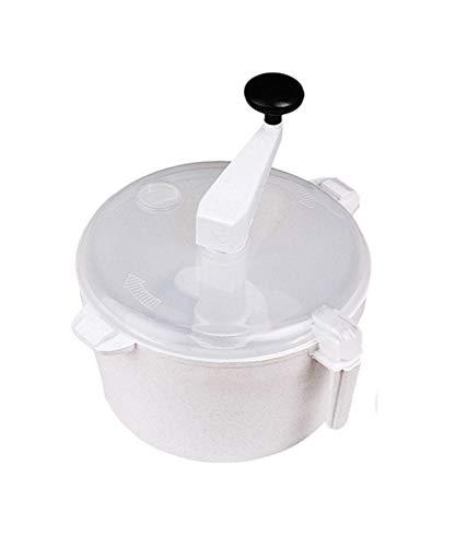 Dough Kneader - kneader Atta Maker für Chapati-Roti/Tortilla mit Messbecher Tortilla Roti Maker