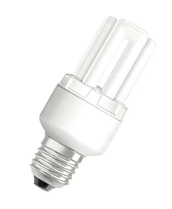 osram energiesparlampe dulux stick e27 sockel 8 watt warmwei 2500k beleuchtung. Black Bedroom Furniture Sets. Home Design Ideas