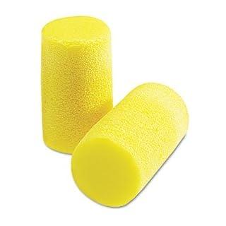 Aearo Peltor E-A-R Classic Grande Ear Plugs in Pillow Paks, PVC Foam, Yellow, 200 Pairs/Box by Aearo