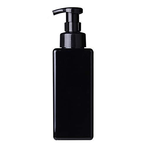 LPxdywlk 650ml Baño Cuadrado Jabón líquido Mousses Espumante Dispensador de Gel de Ducha Botella...