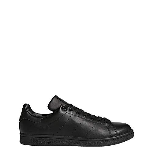adidas Stan Smith M20327, Scarpe da Ginnastica Basse Uomo, Nero (Black, 39 1/3 EU