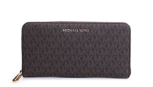 Michael Kors Jet Set Travel Zip Around Travel Wallet (Around Wallet Zip Travel)