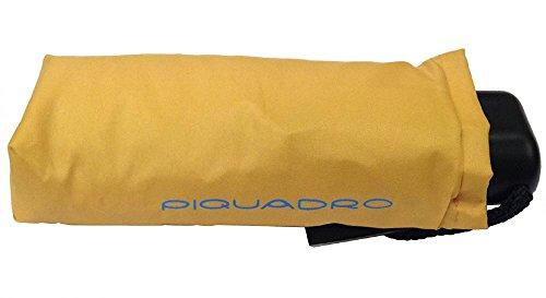 Piquadro ,  Unisex-Erwachsene Taschenschirm gelb GIALLO