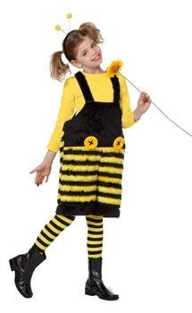 Kinderplüschlatzhose Biene, Gr. 116
