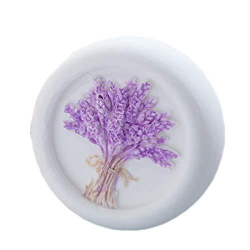grainrain Lavender Flower Seife Formen Silikon Seifenherstellung Formen Craft Formen Kunstharz Form - Flower Soap Bar Seife