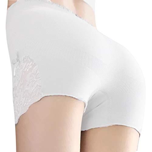 Damen Freizeithose,Hüftshorts mit Spitzennähten Anti-Beleuchtungs-Leggings für Damen Slip Bike Shorts Hip Lifting Lace Sexy Shorts -