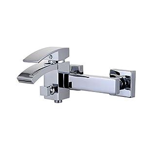 EISL NI023WFCR-E Grifo monomando para llenado de bañera y ducha Waterfall