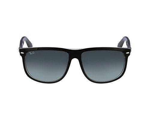 Ray-Ban Mann RB 4147 schwarz - Grey gradient Polycarbonatglas Sonnenbrille lenses 60 mm