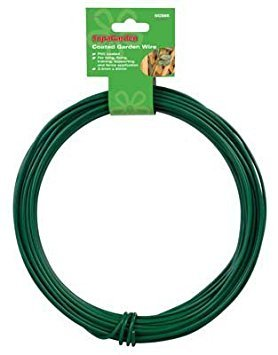 20 Meter Heavy Duty Roll Of Garden Wire Ideal For Plants Plant Ties 3.5mm Thick