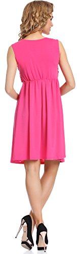 Merry Style Femme Robe Tess Amarante