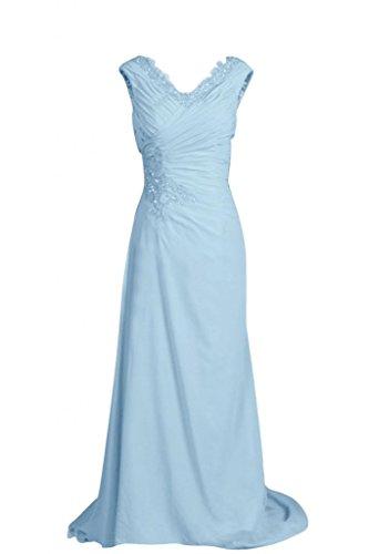 Sunvary Retro con lacci, linea fondo arricciato Gowns per abiti da sera o da cerimonia, con diamanti Burgundy