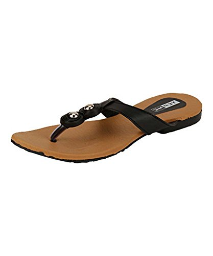 Yepme Women's Black Synthetic Sandal YPWSNDL0096_4  available at amazon for Rs.239