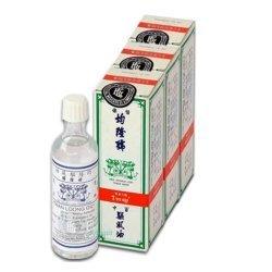 4 x L'huile de massage Kwan Loong Oil - 100% naturelle