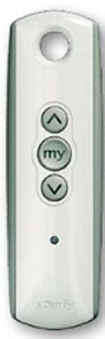 Handsender SOMFY TELIS-1-RTS WHITE
