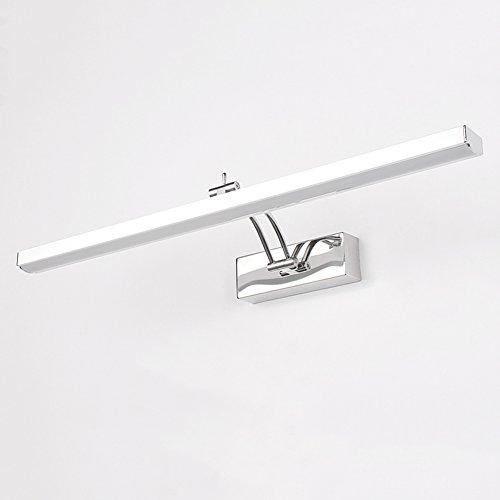 XUERUI Lampe De LED, 7W-12W Lumières Blanches Chaudes De Salle De Bains, Conducteur D'EMC, 40-70CM X 7CM X 4.5cm, Énergie Savin (Couleur : Blanc chaud, taille : 40 cm)