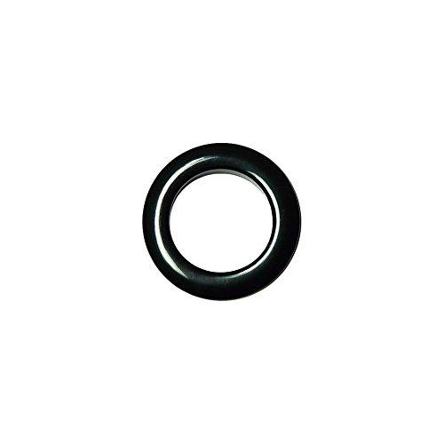 Oeillets à Clipser pour Rideaux Coloris Noir - diamètre 55 mm - Lot de 8