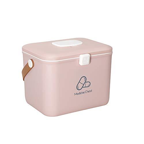 Hausapotheke-kit (FHealth Tragbare Erste-Hilfe-Box Große mit Griff 2 Schichten Medical Lagerung Kit für Heim, Travel & Workplace)