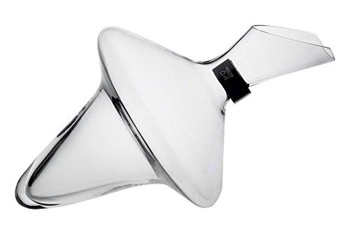 Peugeot Dahlia Carafe à Décanter + Collier Anti Goutte Verre Soufflé Bouche Blanc 75 cl (230289)