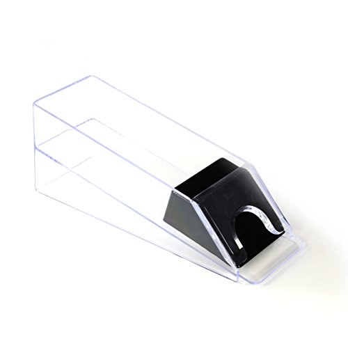 ber Kartenschlitten Dealer Shoe 1- 6 Decks transparenter Kunststoff Casino Poker-Zubehör für Poker oder Black Jack ()