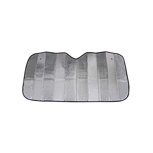 GXju-Car supplies Große Sonnenblende, Frontscheibe Windschutzscheibe Sonnenblende Halten Sie das Auto Cool UV-Schutzhülle Markise Flexible Größe SUV, Lastkraftwagen, Auto (Size : 140 * 70CM)