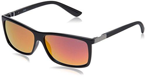 IDEE Rectangular Sunglasses (IDS1989C5SG|59|Black ) image