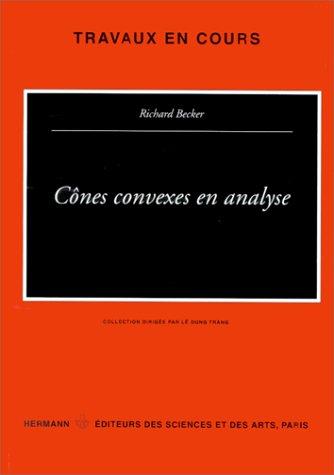 Cônes convexes en analyse