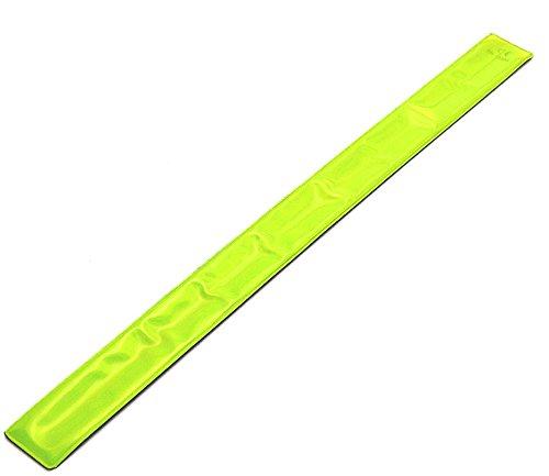 Sport Direct TM 3M® Scotchlite® Hi Vis reflektierende Arm/Knöchel Band entspricht CE EN 13356Reflektorstandards reflexionsvermögen Standard, Fahrrad, Bike, Radfahren/Walking Laufen Snap Wrap CE EN13356Freigaben - Radfahrer Knöchel Band