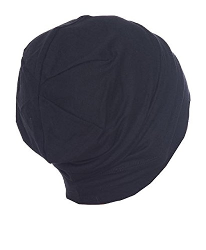 unisex-indoors-cotton-beanie-for-hair-loss-black