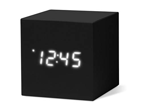 MoMa - Color Cube Clock schwarz