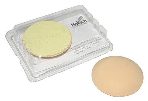 Wandpuffer, Gummi beige, selbstklebend, 60 x 13 mm, 2 Stück, 02144