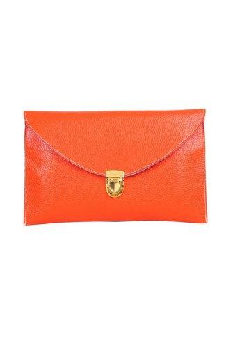 Fashion China , Damen Clutch orange