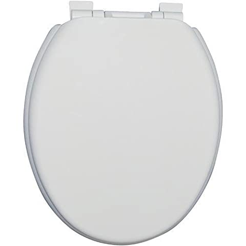 LUXURY SUPER COMFORT TOILET SEAT. EASY INSTALL AND CLEAN HIGH-GRADE NON-TOXIC UNIQUE WHITE PLASTIC SEAT WITH SMOOTH ELEGANT TOP. 100% PREMIUM QUALITY BY SourceDIY