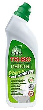 Tri-Bio TriBio Eco Natural Toilet Bowl Cleaner Power Rust Remover 710Ml