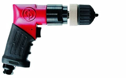Chicago Pneumatic CP9792 Heavy Duty 3/8-Inch Reversible Drill, Keyless Chuck by Chicago Pneumatic