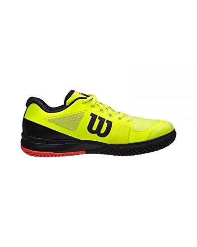 Wilson Rush Pro 2.5 Ye/Rd Men's Shoe 11.5