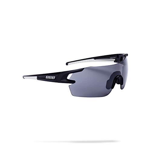 BBB Cycling Fahrradsonnenbrillen, Fullview Sportbrillen Mit Wechselgläsern, BSG-53, Matt Schwarz