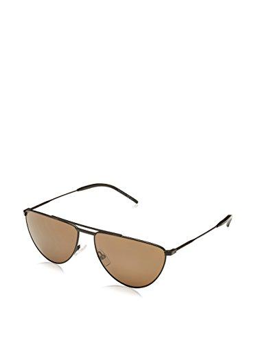 Saint Laurent Herren SL 18 003 Sonnenbrille, Braun (Matt Black), One Size