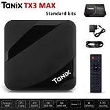 SreeTeK™️ TANIX MAX 2GB/16GB Android 7.1 Mini PC, Android TV Box Supports JIO