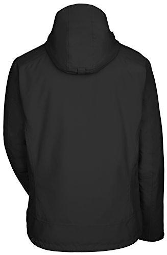VAUDE Herren Doppeljacke Tolstadh 3 in 1 Jacket Black
