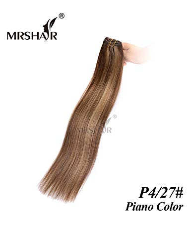 MRS HAIR Haarverlängerung, 1 bundle 18inch, P4/27# gebraucht kaufen  Wird an jeden Ort in Deutschland